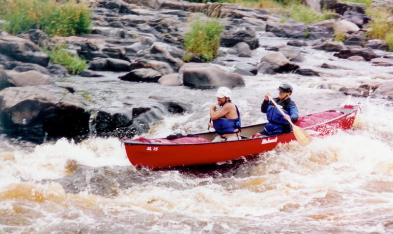 Canoeing Rapids Chippewa Falls Water Red Fun Outdoors